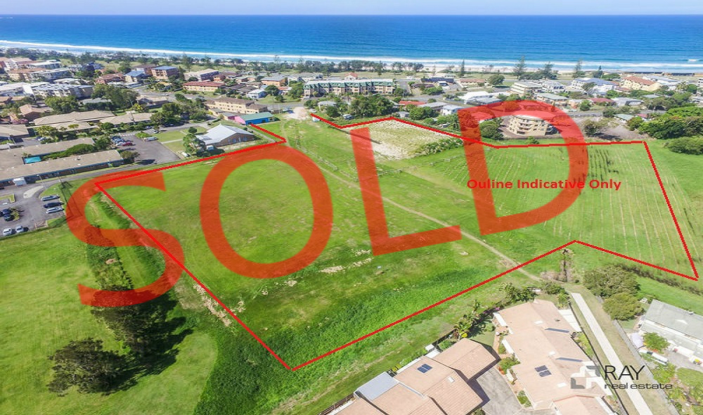 Dunes, sold, Kingscliff, land