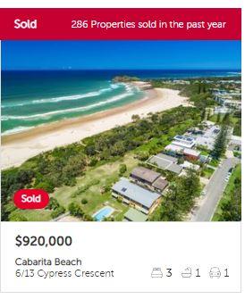 Real estate appraisal Cabarita Beach NSW 2488
