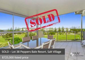 Resort apartment appraisals Kingscliff Casuarina NSW