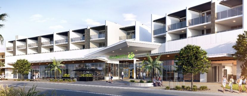 Artist depiction of Cabarita Beachside Apartment, off the plan purchase opportunity