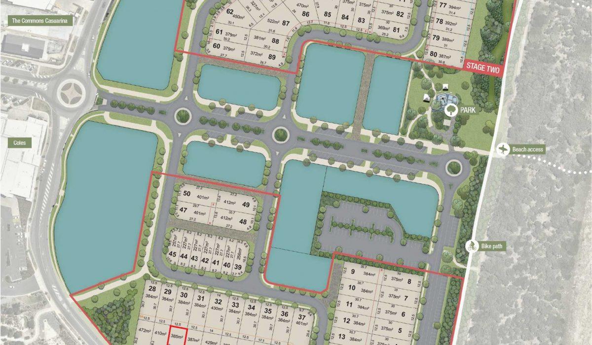 Lot 24 Marked Masterplan