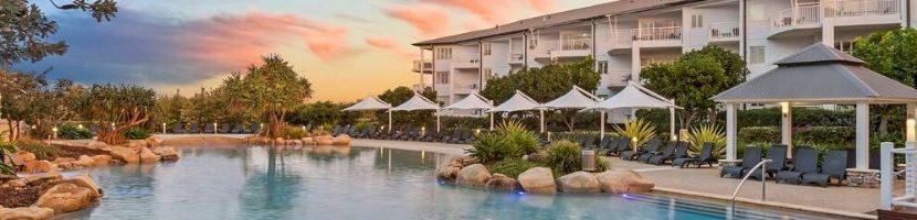 Resort apartment banner