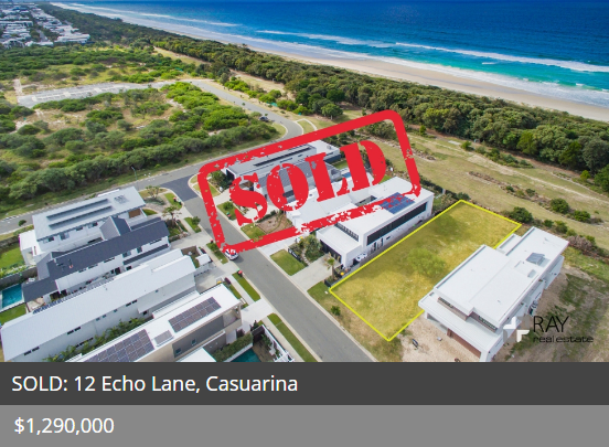 Real estate appraisal Casuarina 2487 NSW
