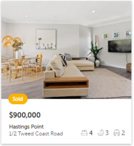 Real estate appraisal Hastings Point NSW 2489