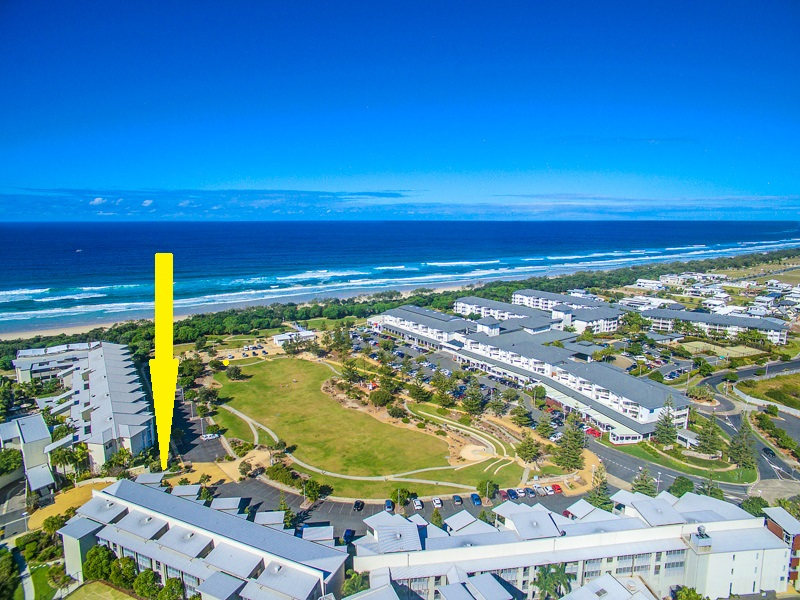 Lot 58 Peppers – Rarely available, 3-bedroom, east beach and park facing apartment at Peppers Resort.