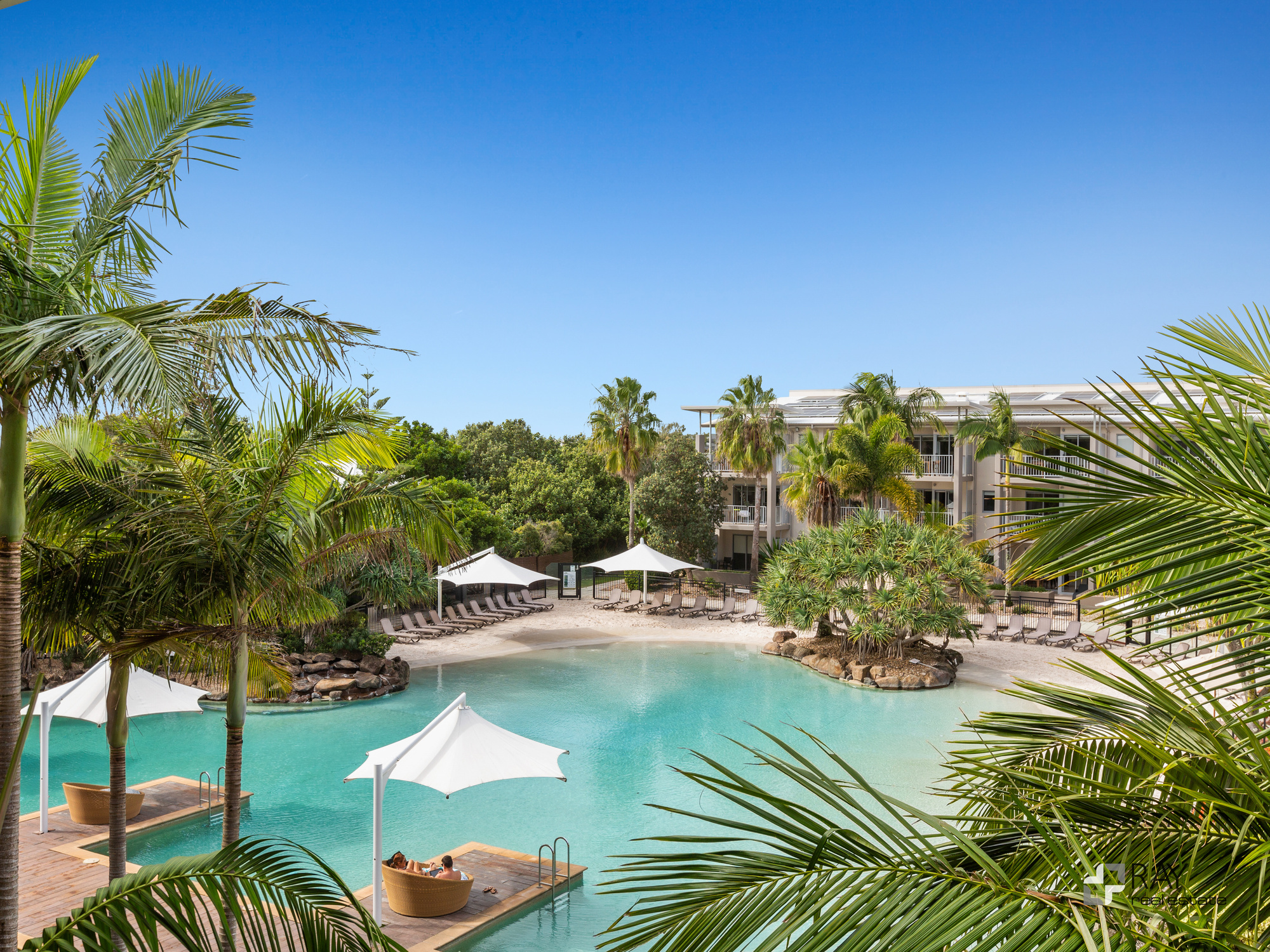 Lot 142 (6323/24) Peppers – Top Floor – Lagoon Pool and North East Facing Peppers 2 Bedroom Apartment.