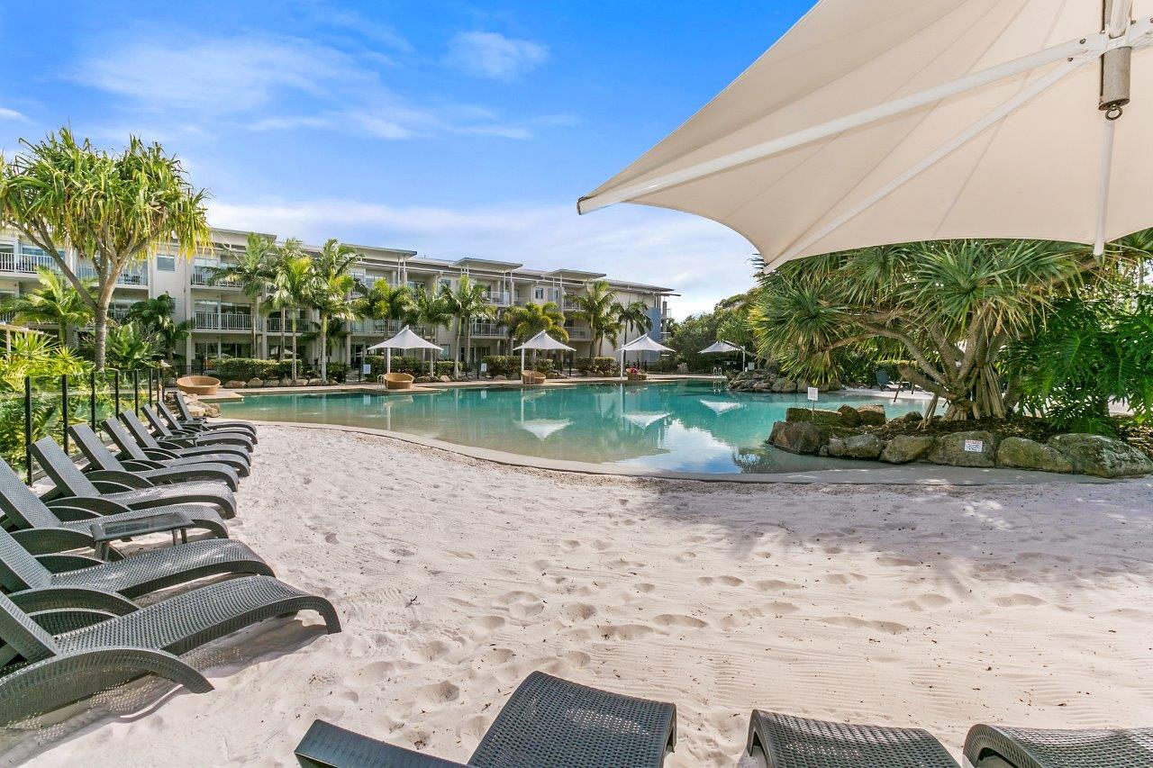Lot 69 (4213/14) Peppers – Dual key apartment on the front at Peppers Resort